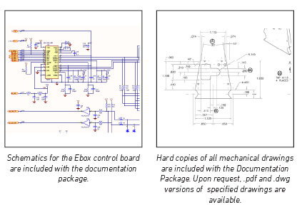 Schematics and Mechanical Drawings