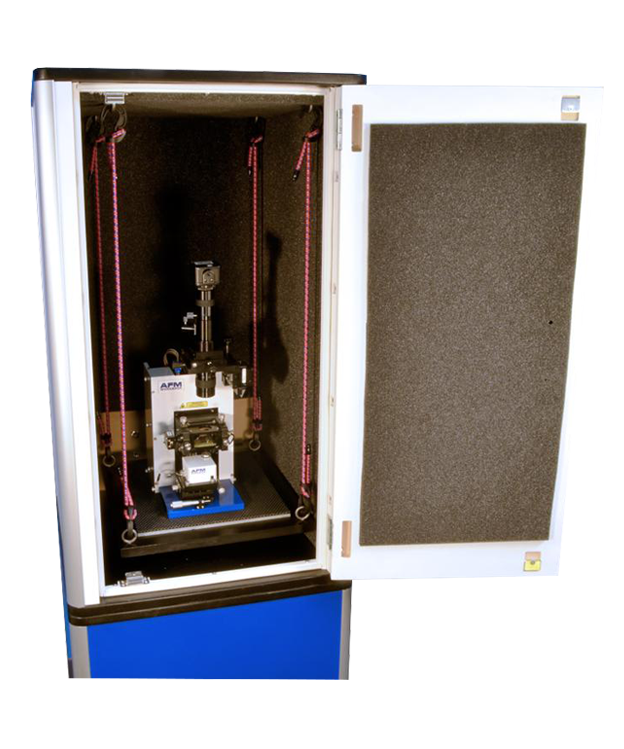 AFM Vibration Isolation: Bungee option for Atomic Force Microscope Acoustic Enclosure