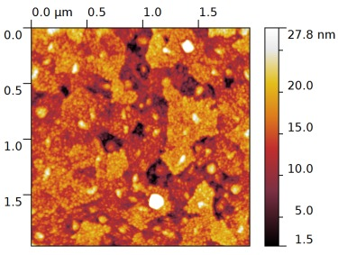 Indium Tin Oxide Atomic Force Microscope image