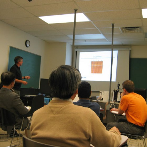 Atomic Force Microscopy Training